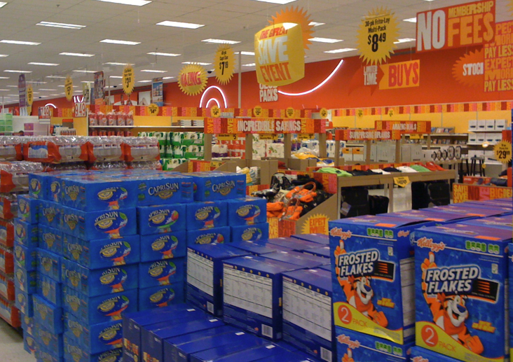 "Target Holds ""Great Save Event"" to Compete With Costco and Sam's"