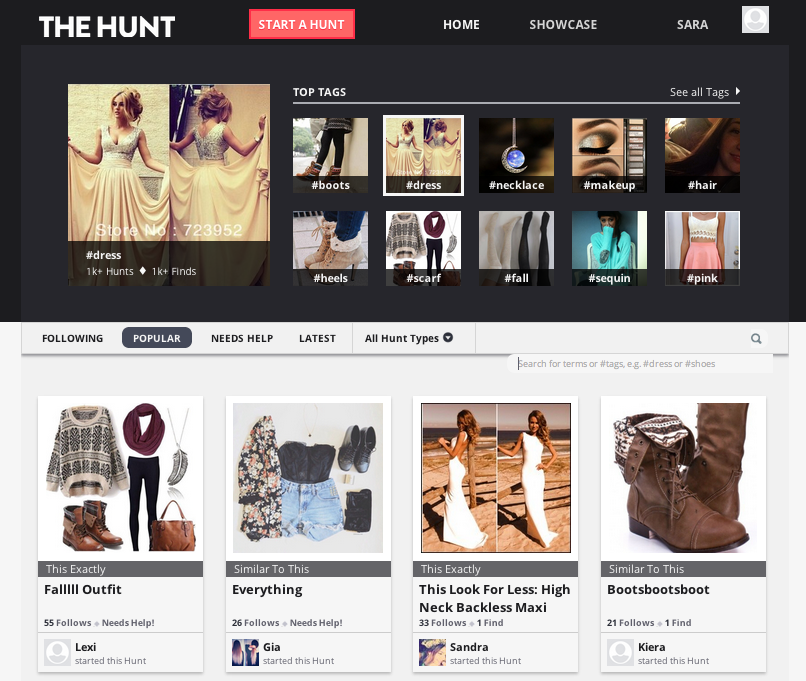 The Hunt: Turning an Image into an eCommerce Opportunity